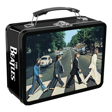 Picture of Beatles Lunch Box: Abbey Road Embossed Large Tin Tote ( Lunchbox )