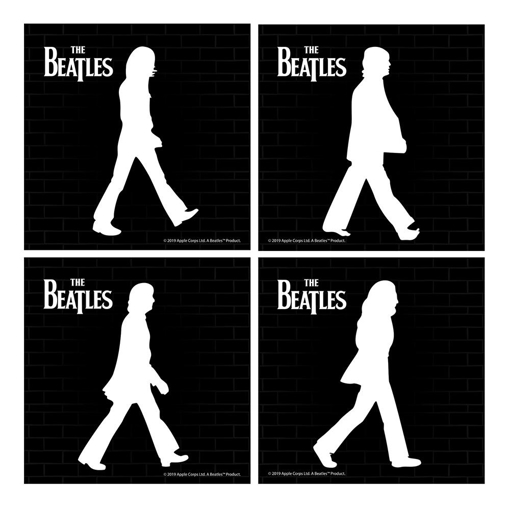 Picture of Beatles Coasters:  Abbey Road Ceramic Coasters