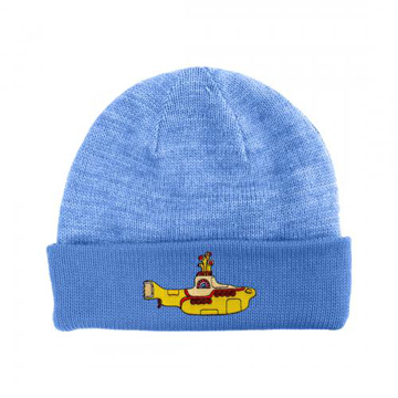 Picture of Beatles Beanie: The Beatles Yellow Submarine Light Blue