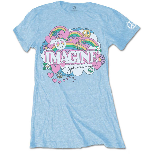 Picture of Beatles Jr's T-Shirt: John Lennon Rainbows Love & Peace
