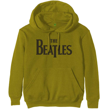 Picture of Beatles Hoodie:  Unisex Pullover Hoodie Drop T Logo in Green