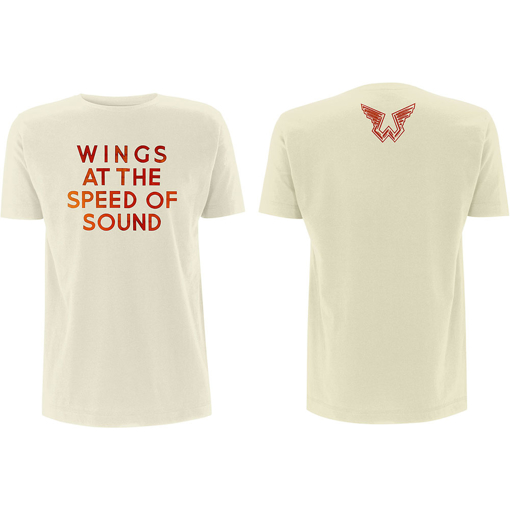 Picture of Beatles Adult T-Shirt: Paul McCartney - Wings at the Speed of Sound