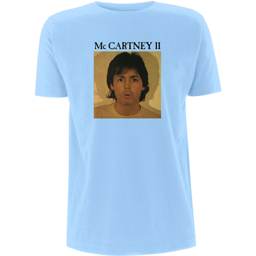"Picture of Beatles Adult T-Shirt: Paul McCartney ""McCartney II"""