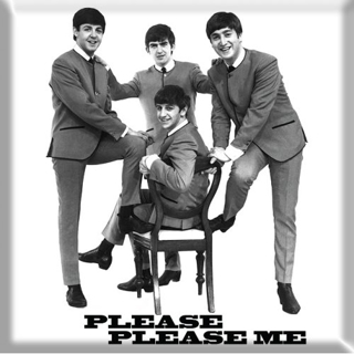 Picture of Beatles Magnets: The Beatles Many Styles MAG Please Please Me