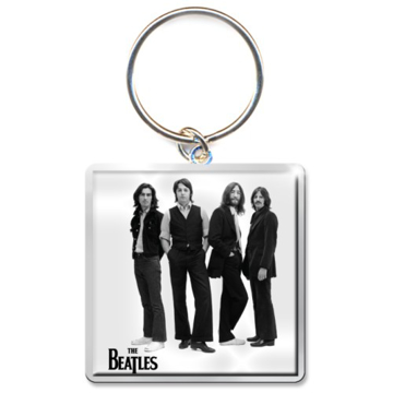 Picture of Beatles Keychain: White Album Iconic Image