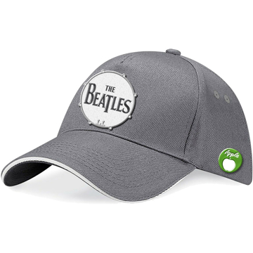 Picture of Beatles Cap: Baseball  Style Drum in Grey