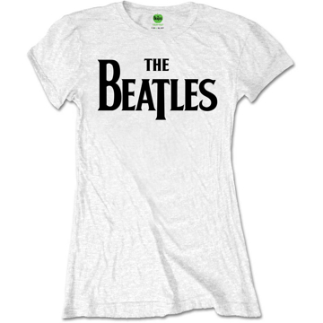 Picture of Beatles Jr's T-Shirt: Drop T Logo White