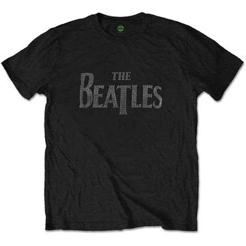 Picture of Beatles Adult T-Shirt: Unisex Drop T Logo (Diamante)