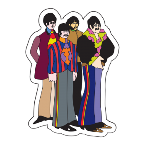 Picture of Beatles Patches:  Yellow Submarine Four