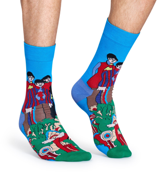 Picture of Beatles Socks: Happy Socks Men's Sgt. Pepper's Pepperland