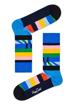 """Picture of Beatles Socks: Happy Socks Men's Blue """"Abbey Road"""" Socks"""