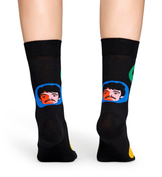 "Picture of Beatles Socks: Happy Socks Women's ""Cartoon Faces"""
