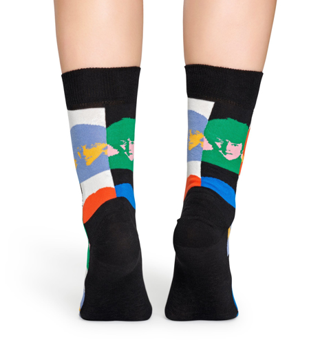 Picture of Beatles Socks: Happy Socks Women's Hard Day's Night Socks