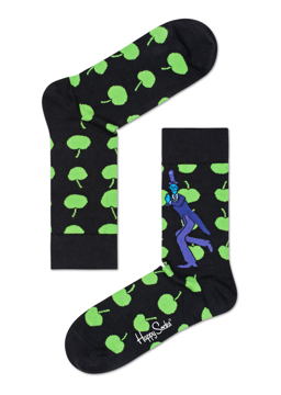 Picture of Beatles Socks: Happy Socks Women's Apple Socks