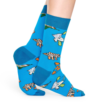 Picture of Beatles Socks: Happy Socks Women's Fish & Whales Socks