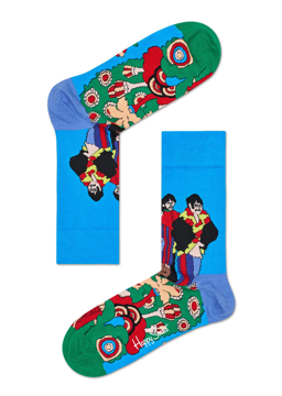 Picture of Beatles Socks: Happy Socks Women's Sgt. Pepper's Pepperland