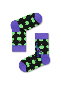 Picture of Beatles Socks: Happy Socks Kid's Apple Socks