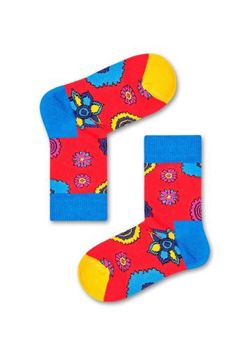 Picture of Beatles Socks: Happy Socks Kid's Flower Power Socks