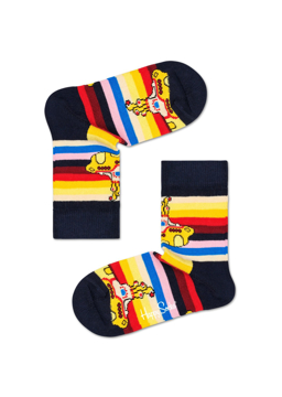 Picture of Beatles Socks: Happy Socks Kid's Yellow Submarine Stripe Socks