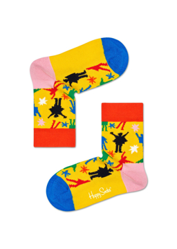 Picture of Beatles Socks: Happy Socks Kid's Help Socks