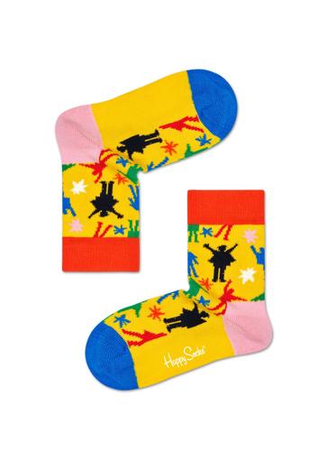 Picture of Beatles Socks: Happy Socks Kid's Help Socks