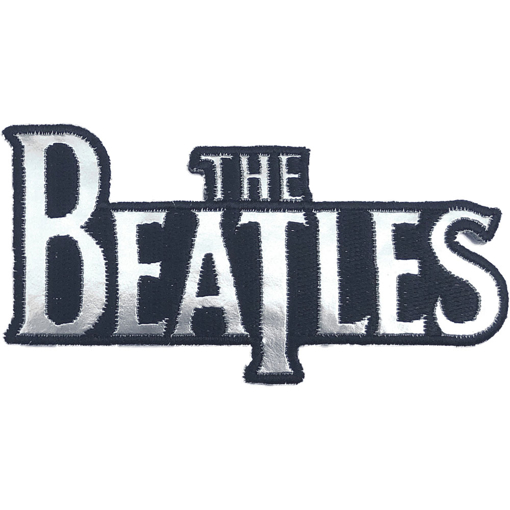 Picture of Beatles Patches: Silver Drop T Logo