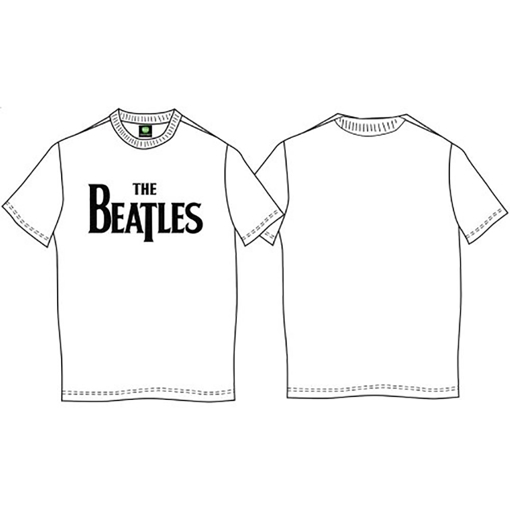 Picture of Beatles Kid Shirt: The Beatles White Drop T - Baby to Youth