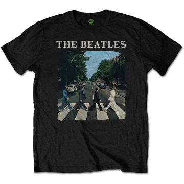 Picture of Beatles Kid Shirt: The Beatles Black Abbey Road - Baby to Youth