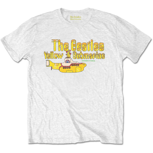 Picture of Beatles Kid Shirt: The Beatles White Yellow Submarine - Baby to Youth