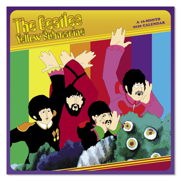 Picture of Beatles Calendar: 2020 The Beatles Yellow Submarine