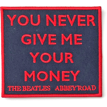 Picture of Beatles Patches: Your Never Give Me Your Money - Abbey Road