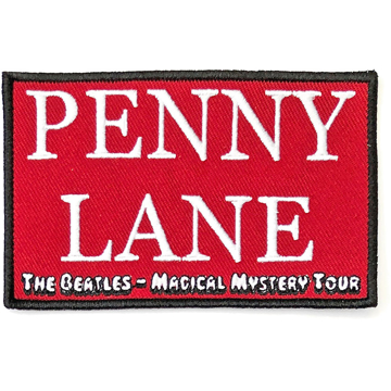 Picture of Beatles Patches: Penny Lane Red - MMT