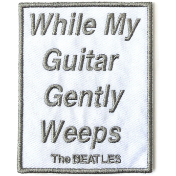Picture of Beatles Patches: While My Guitar Gently Weeps  - White Album