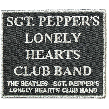 Picture of Beatles Patches: Sgt. Pepper Black - Sgt Pepper