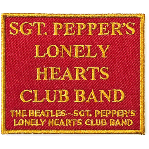 Picture of Beatles Patches: Sgt. Pepper Red - Sgt Pepper
