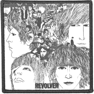 Picture of Beatles Patches: Album Cover Patch - Revolver