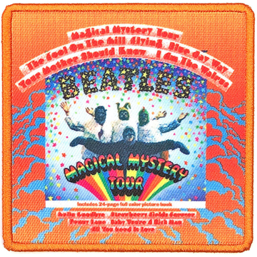 Picture of Beatles Patches: Album Cover Patch - MMT Magical Mystery Tour