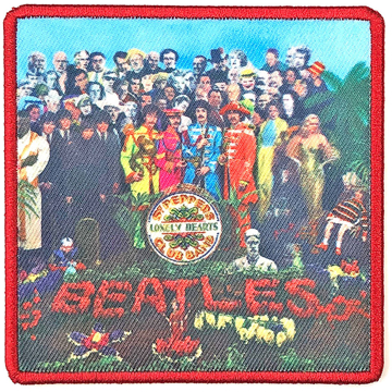 Picture of Beatles Patches: Album Cover Patch - Sgt Pepper's Lonely Hearts Club Band