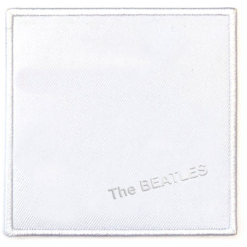 Picture of Beatles Patches: Album Cover Patch - The Beatles - White Album