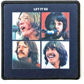 Picture of Beatles Patches: Album Cover Patch - Let It Be
