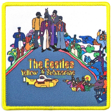 Picture of Beatles Patches: Album Cover Patch - Yellow Submarine
