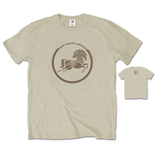 Picture of Beatles Adult T-Shirt: George Harrison Dark Horse Sand