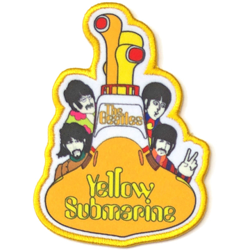 Picture of Beatles Patches: Yellow Submarine All Aboard