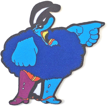 Picture of Beatles Patches: Yellow Submarine Chief blue Meanie