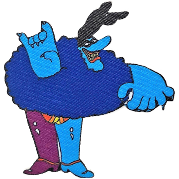 Picture of Beatles Patches: Yellow Submarine Chief Blue Meanie 2