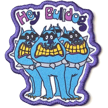 Picture of Beatles Patches: Yellow Submarine Hey Bulldog