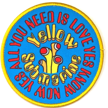 Picture of Beatles Patches: Yellow Submarine AYNIL Circle