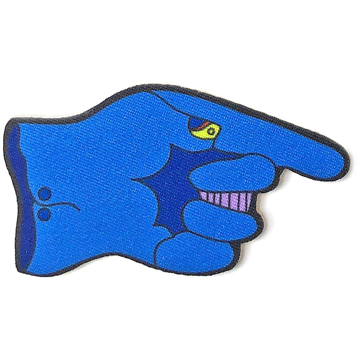 Picture of Beatles Patches: Yellow Submarine The Dreadful Flying Glove