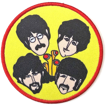 Picture of Beatles Patches: Yellow Submarine Perryscopes & Heads