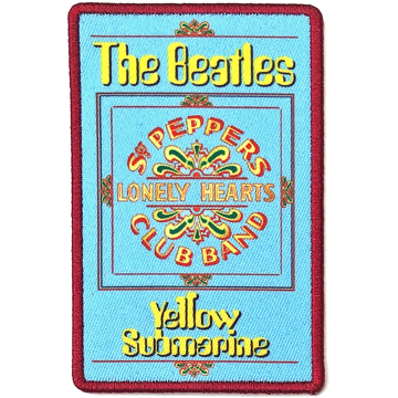 Picture of Beatles Patches: Yellow Submarine Lonely Hearts
